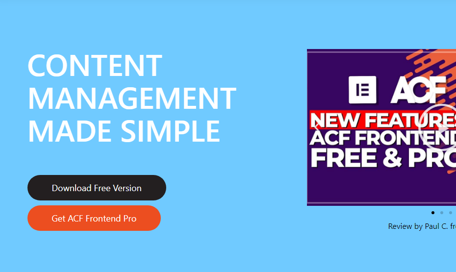 ACF Frontend Form Element Pro Nulled