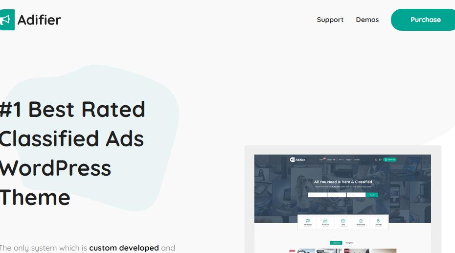 Adifier Classified Ads WordPress Theme Nulled