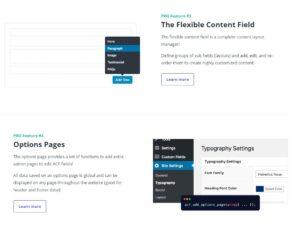 Advanced Custom Fields Pro : Repeater Fields