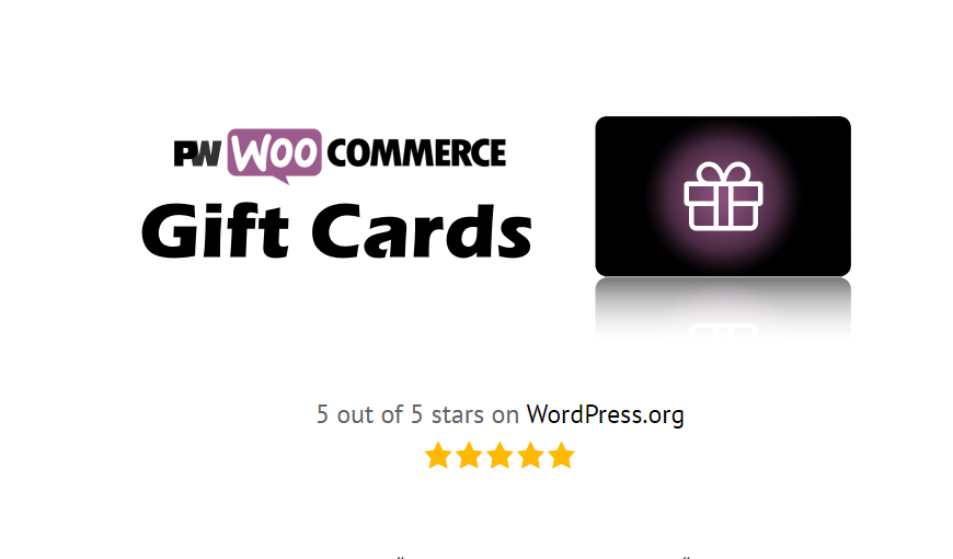 PW WooCommerce Gift Cards Nulled