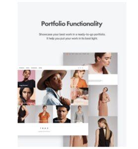 Portfolio Functionality