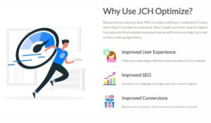 WHY USE JCH OPTİMİZE