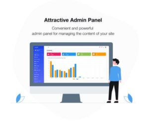 Attractive Admin Panel