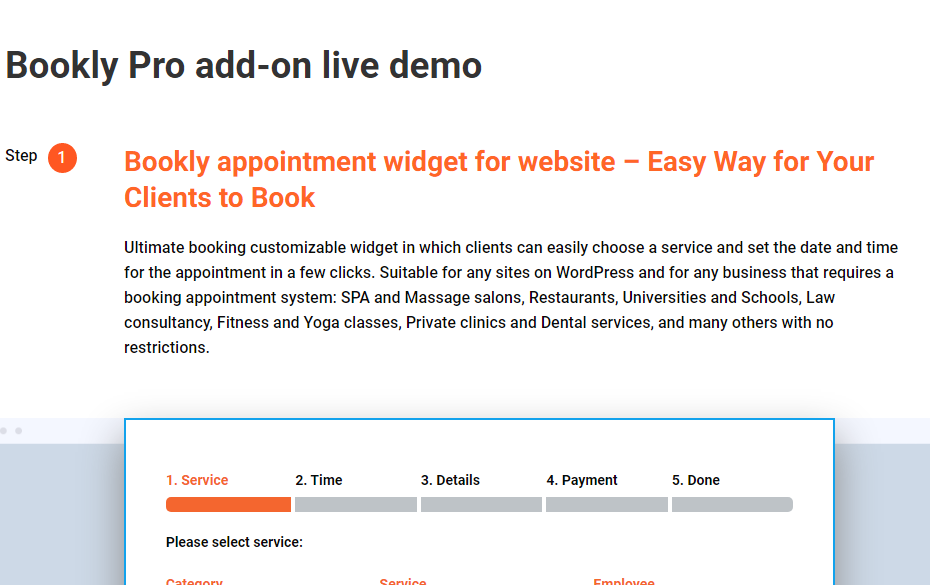 Bookly Pro Free Download
