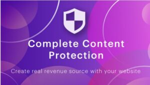 COMPLETE CONTENT PROTECTİON