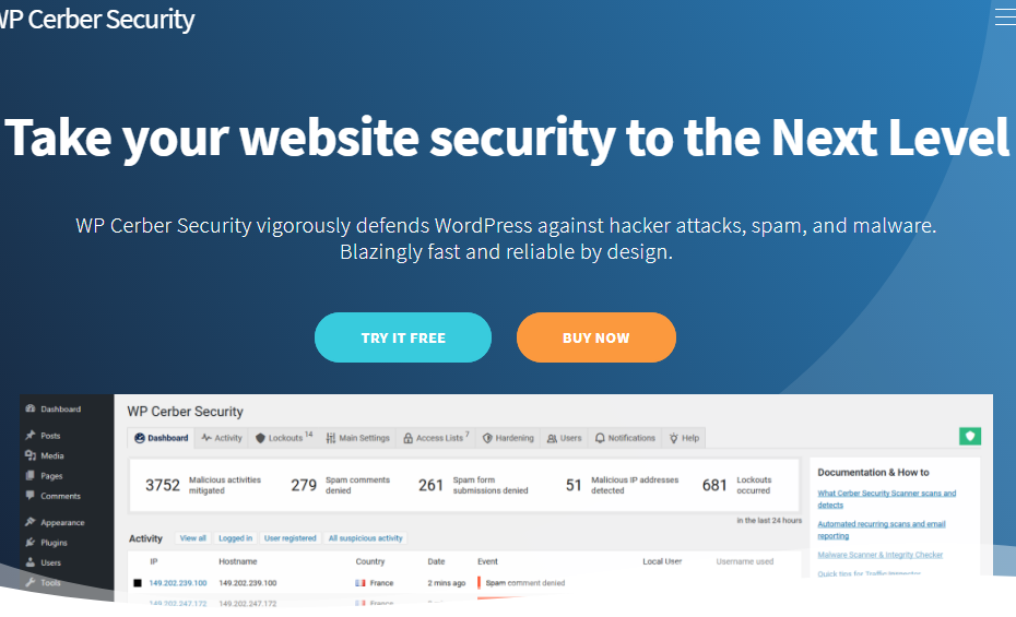 Cerber Security Pro Nulled