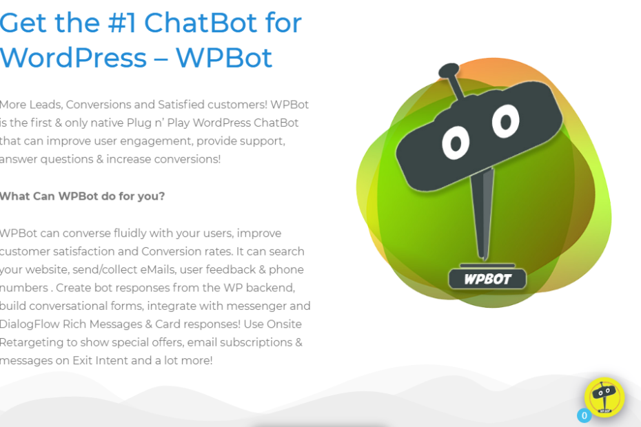 ChatBot Pro for WordPress Nulled