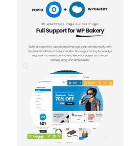 Full Support For WP Bakery