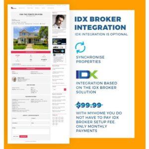 IDX BROKER INTEGRATION