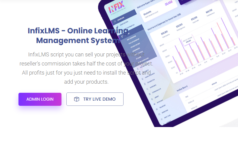 Infix LMS Nulled