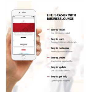 LIFE IS EASIER WITH BUSINESSLOUNGE
