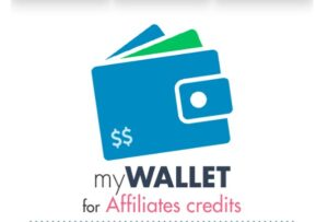 MY WALLET FOR AFFİLİATES CREDİTS