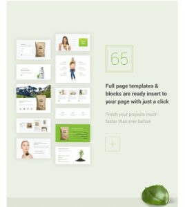NaturaLife Full Page Templates