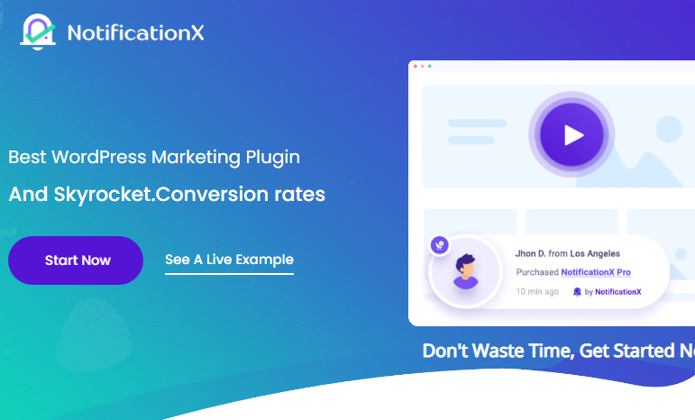 NotificationX Pro Nulled