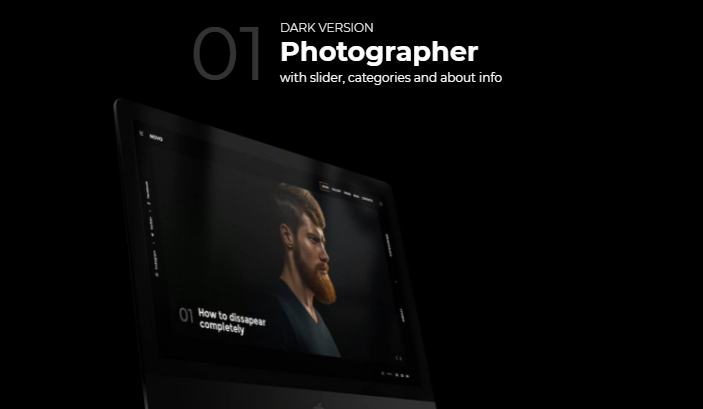 Novo Photographer, Nulled Free Download