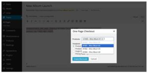 One Page Checkout Features