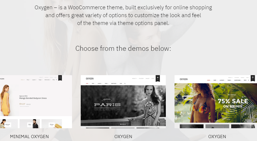 Free Download Oxygen WooCommerce Theme Nulled