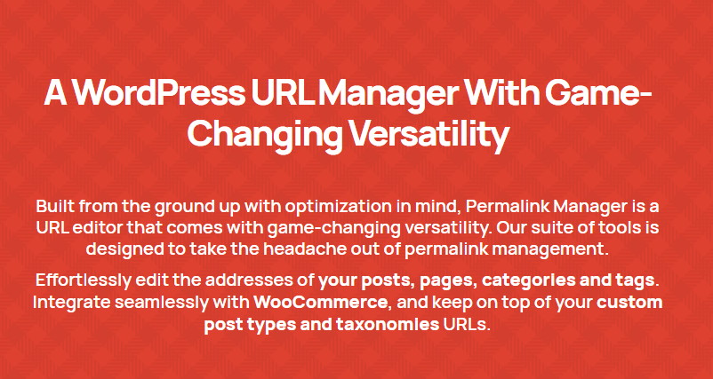 Permalink Manager Pro Nulled