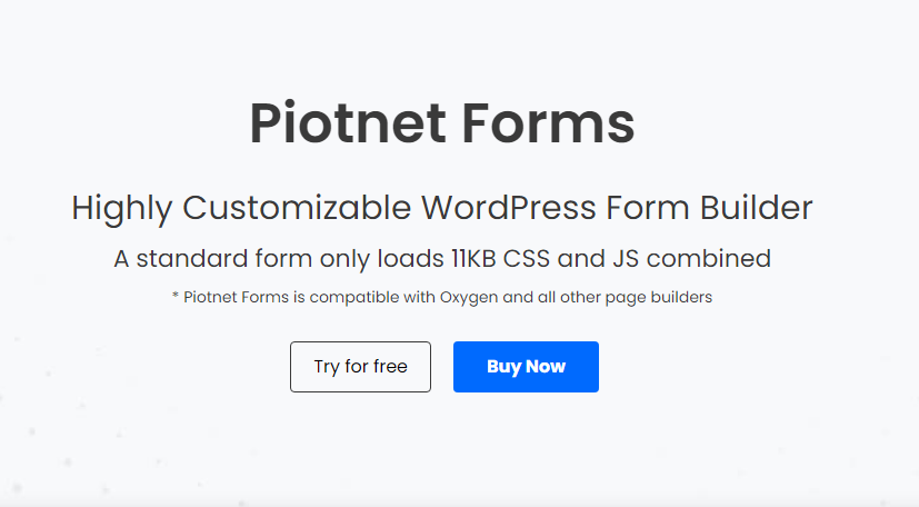 Piotnet Forms Pro Nulled