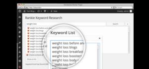 Rankie Keyword research tool