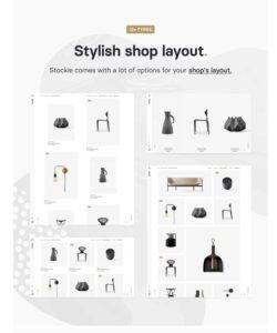 Stylish Shop Loyout
