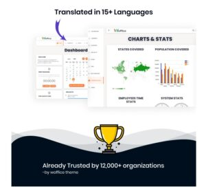 TRANSLATED İN 15+ LANGUAGES