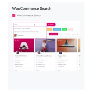 WOOCOMMERCE SEARCH