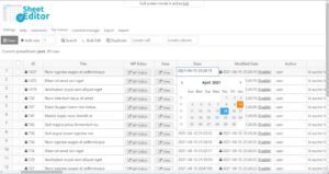 WP Sheet Editor Premium