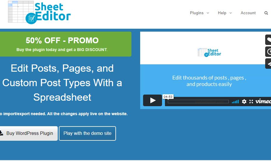 WP Sheet Editor Premium Nulled