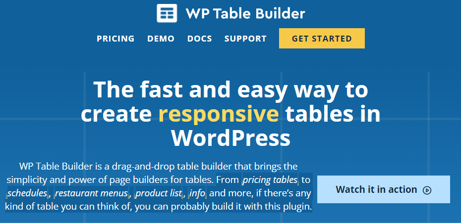 WP-Table-Builder-Pro