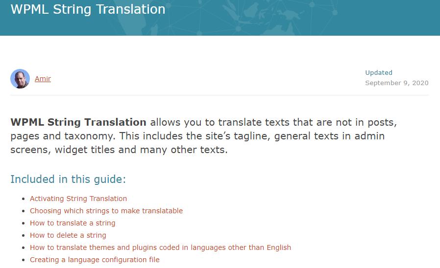 WPML String Translation Addon Nulled