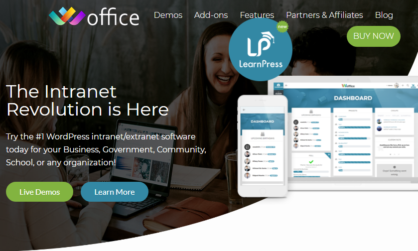 Woffice Nulled 4.0.3 – (Intranet-Extranet WordPress Theme)