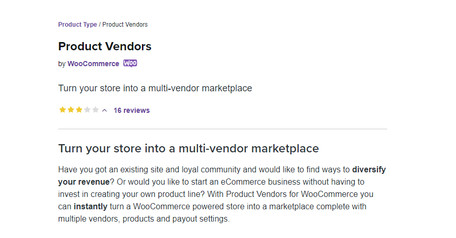 WooCommerce Product Vendors Nulled