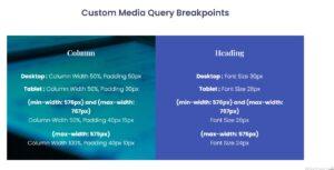 Custom Media Query