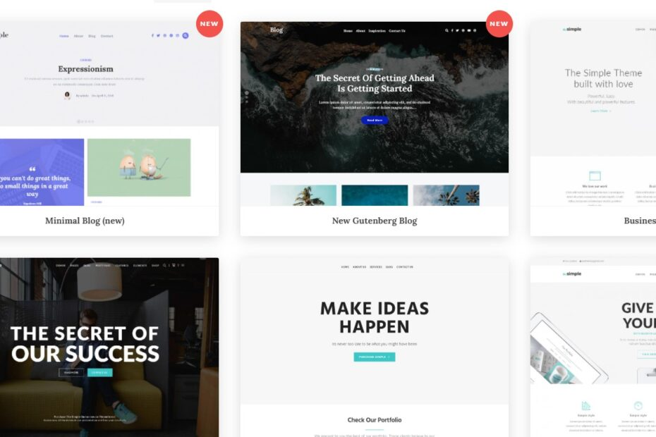 The Simple Theme Nulled