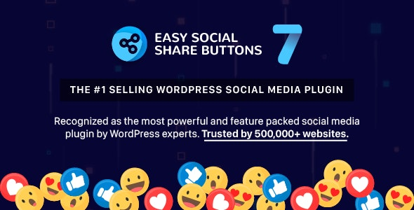 Easy Social Share Buttons Nulled Plugin