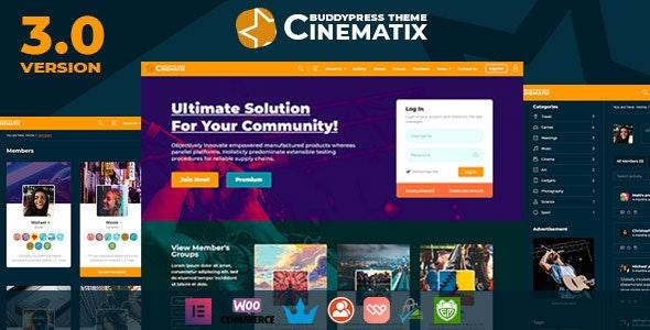 Cinematix Nulled Theme