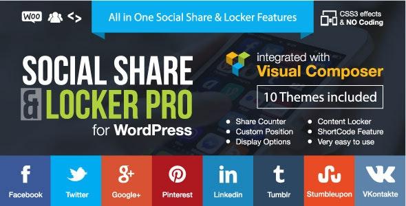 Social Share & Locker Pro Nulled Plugin