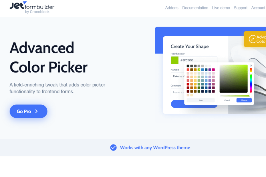 Advanced Color Picker Nulled