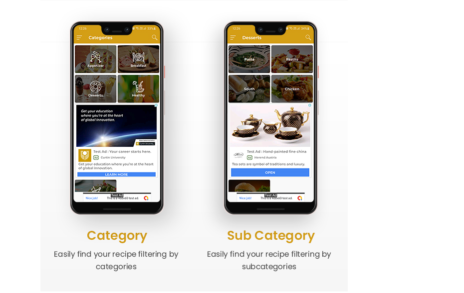 Android Recipe Book App Nulled