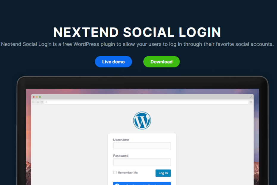 Nextend Social Login Pro Nulled