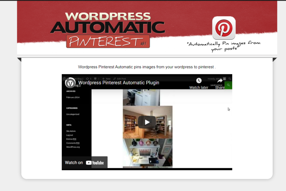 Pinterest Automatic Nulled