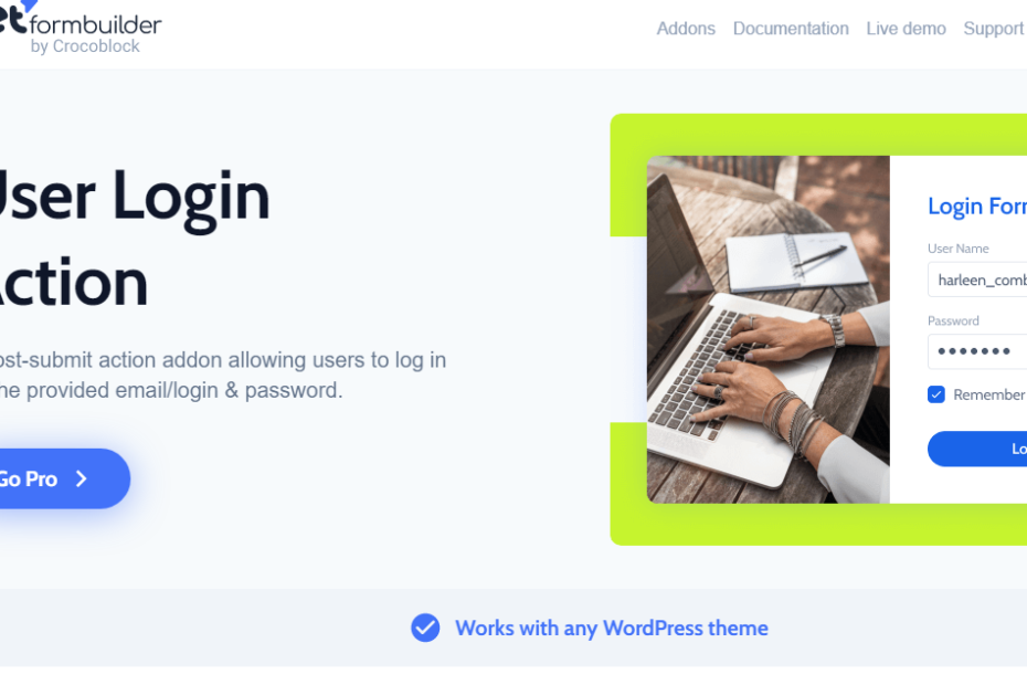 User Login Action Nulled