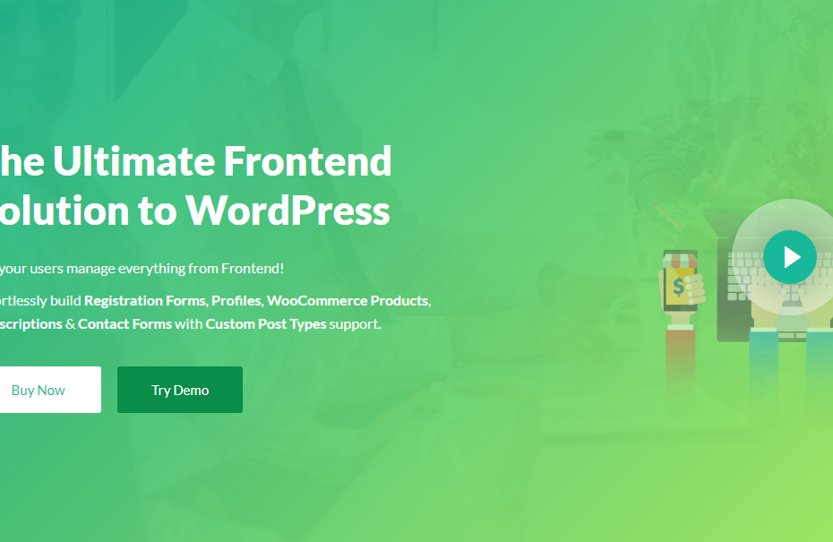 WP User Frontend Pro Business Nulled