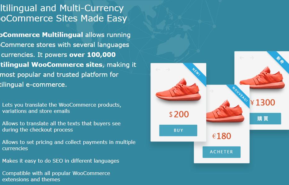 WPML WooCommerce Multilingual Addon Nulled