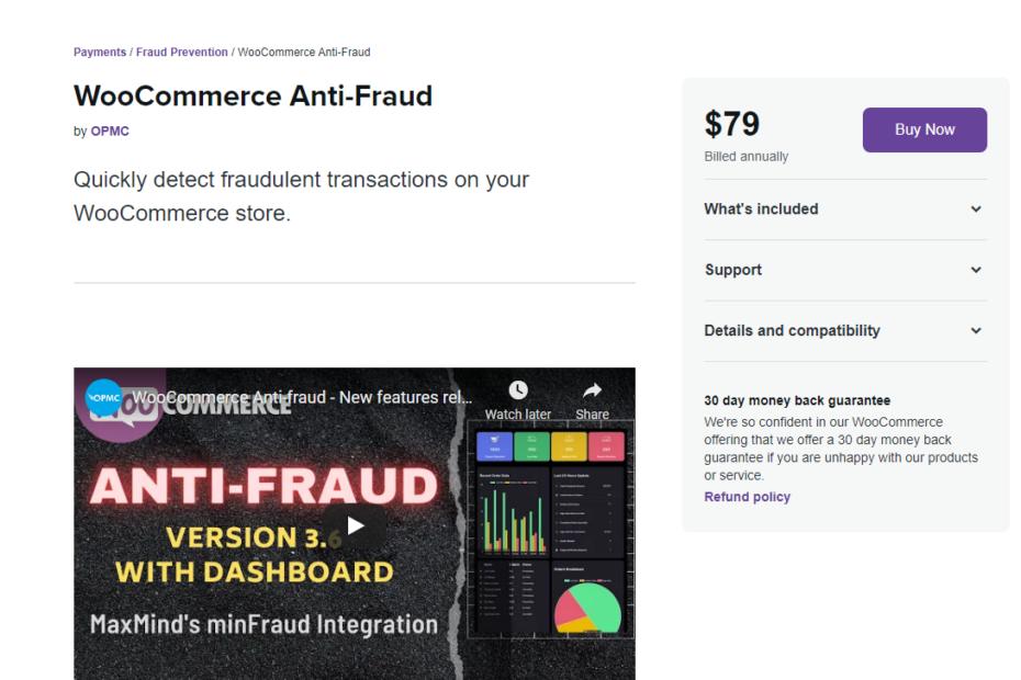 WooCommerce Anti-Fraud Nulled
