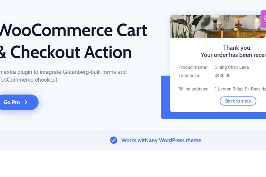 WooCommerce Cart & Checkout Action Nulled