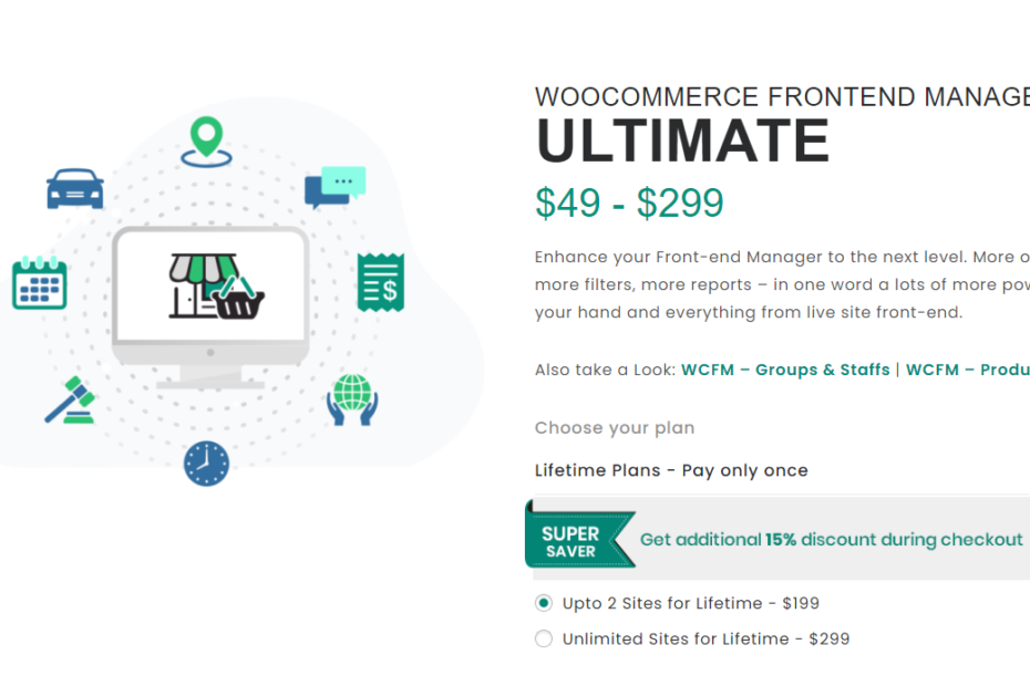 WooCommerce Frontend Manager Ultimate (WCFM) Nulled