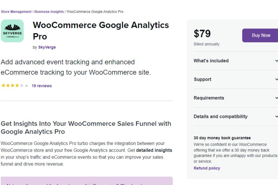 WooCommerce Google Analytics Pro Nulled