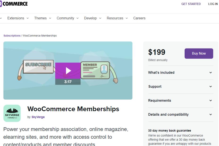 WooCommerce Memberships Nulled